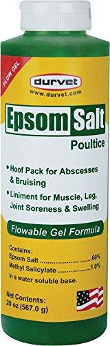 Equine Gel - Durvet/Equine 699664 Epsom Salt Poultice Flow Gel, 20 oz