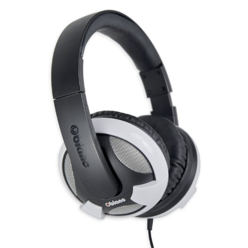 - Syba NC-2 Headphone with Built-In Amplifier and In-Line Microphone, White (OG-AUD63052)