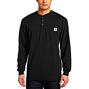 Carhartt Men's Workwear Pocket Henley Shirt (Regular and Big & Tall Sizes)