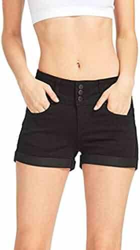 766625002 On Sale Clearance Women Shorts Plus Size Cuekondy Casual Low Waist Solid Hot  Pants Mini Jeans