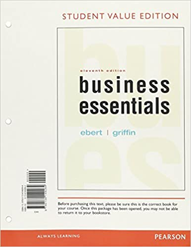 amazon com business essentials student value edition 11th edition
