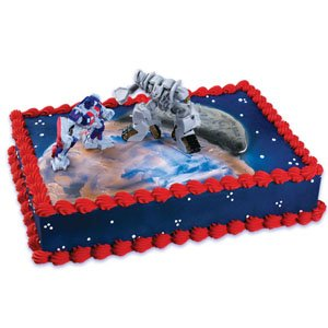 Transformers Optimus Megatron Cake Decorating Kit
