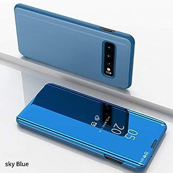 COVO® Espejo Funda para Samsung Galaxy S10 Plus Espejo Mirror Flip ...