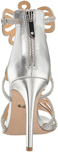 Badgley Mischka Women's Teri Dress Sandal Silver cost for sale 88S6G6