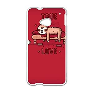 HTC One M7 Cell Phone Case White TRUE LOVE SLI_672591