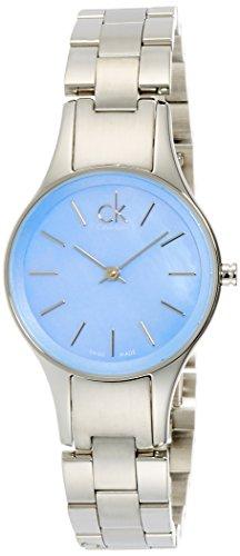 - Calvin Klein Simplicity Mother of Pearl Dial Stainless Steel Ladies Watch K432314N