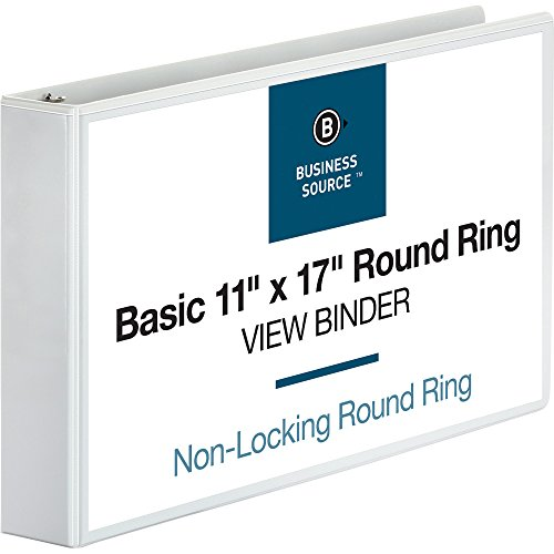Business Source Tabloid-Size Round Ring Reference ()