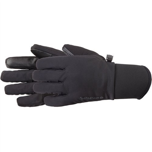 Manzella Women's All Elements 3.0 Touch Tip Gloves, Black, Small
