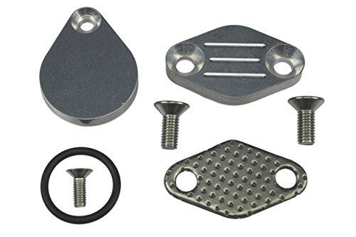 (LS LQ4 Intake Plug Exhaust Block Off Plate LSX Silverado 4.8L 5.3L 6.0L)