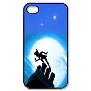 [Peter Pan Series] For Apple Iphone 5C Case Cover Second Star to the Right and Straight on Til Morning Peter Pan, For Apple Iphone 5C Case Cover Case- Black