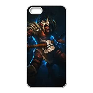 iPhone 4 4s Cell Phone Case White Defense Of The Ancients Dota 2 TROLL WARLORD Aewce