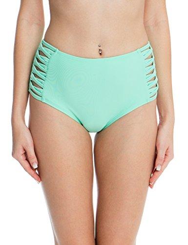 Bikini Bottom Green Swimwear - 2