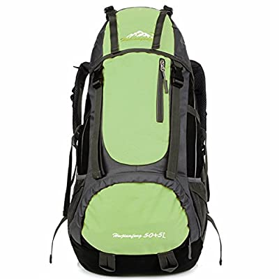 Fredhome 55L Hiking Backpack Daypack for Outdoor Hiking Travel Climbing Camping Mountaineering Cycling