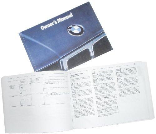 BMW Genuine Owner's Handbook/Manual E34 5 Series US 1993 ()