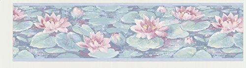 Lily Pad Wallpaper Border - 6
