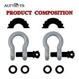 """AUTOBOTS Bow Shackle 3/4"""" D-Ring Shackle"""