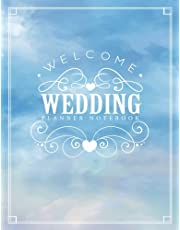 Wedding Planner Notebook: Watercolor Sky My Wedding Organizer Budget Savvy Marriage Event Journal Checklist Calendar Book: Volume 3 (Wedding Planner Journal)