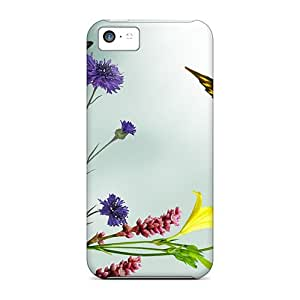 Simple Wild Flowers Special mobile phone carrying shells Protective covers Iphone5c iphone 5c