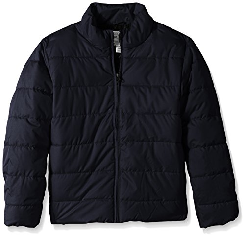 The Children's Place Little Boys' Puffer Jacket, New Navy, Small/5/6