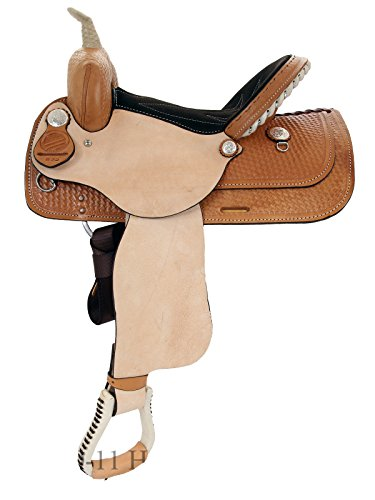 (American Saddlery The Denero Barrel Saddle 825-14inch)
