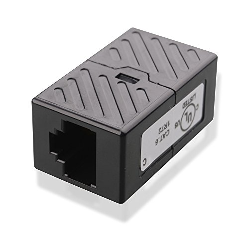 Cable Ethernet Coupler in Black