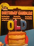 old birthday - Forum Novelties OLD Over The Hill Birthday Candles