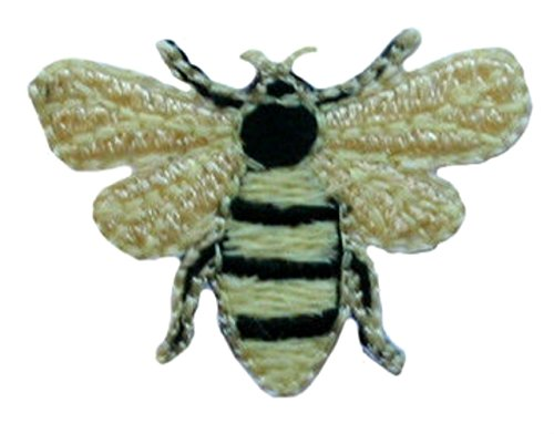 3-count-set-custom-and-unique-1-1-4-by-1-inches-summer-insects-flying-bugs-lot-of-bees-iron-on-embro