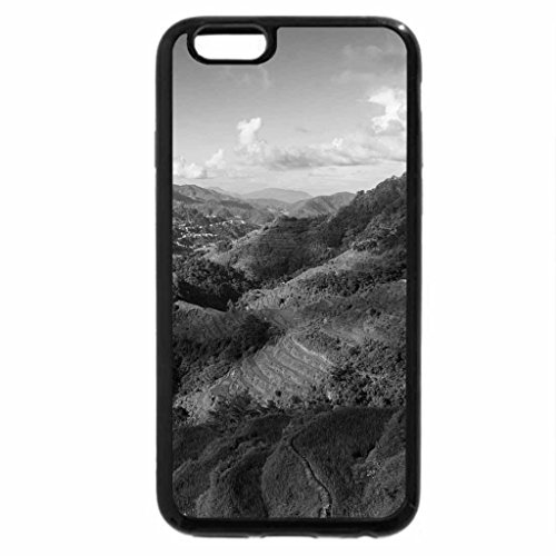iPhone 6S Case, iPhone 6 Case (Black & White) - wonderful valley in the philippines
