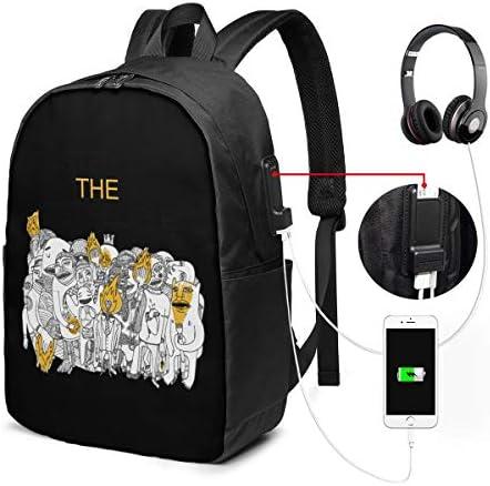 ビジネスリュック フォスターザピープル メンズバックパック 手提げ リュック バックパックリュック 通勤 出張 大容量 イヤホンポート USB充電ポート付き 防水 PC収納 通勤 出張 旅行 通学 男女兼用