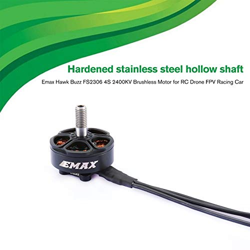 Wikiwand 2PCS Emax Hawk Buzz FS2306 4S 2400KV Brushless Motor for RC Drone FPV Racing by Wikiwand (Image #3)