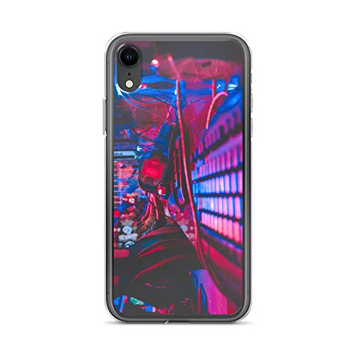 iPhone XR Case Anti-Scratch Gamer Video Game Transparent Cases Cover Alive in The Night Gaming Computer Crystal Clear -