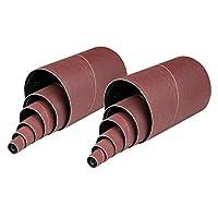 """POWERTEC Grit Sanding Sleeves (12 Pack), 4-1/2"""""""