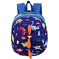 Nature Dream Kid Toddler Backpack Dragon Dinosaur with Safety Leash Harness