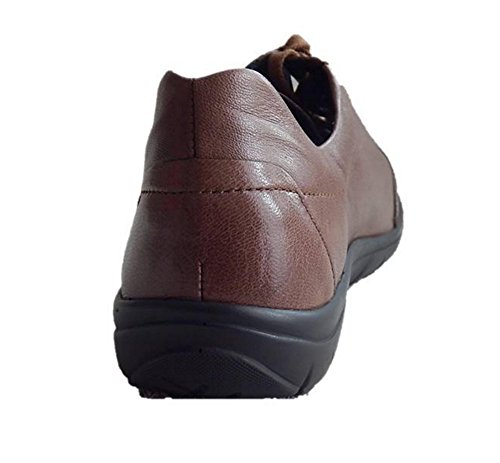 Semler Sneaker Schnürschuhe Damen cognac Leder Weite H