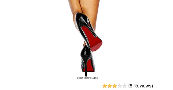 3855bc84fb35 Amazon.com  Colored Shoe Sole Kit - DIY Red Bottom - Slip Resistant Shoe  Bottom Cover for Women s Heels (Dark Red)  Shoes