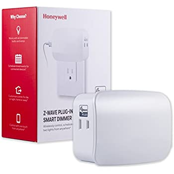 Honeywell Z Wave Plus Smart Light Dimmer Switch Dual