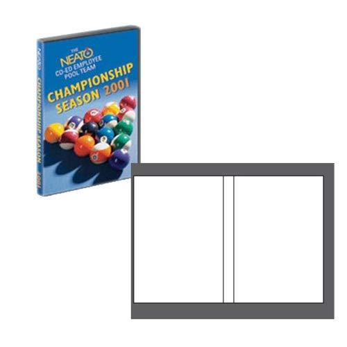 Neato EconoMatte DVD Case Inserts - 100 Sets
