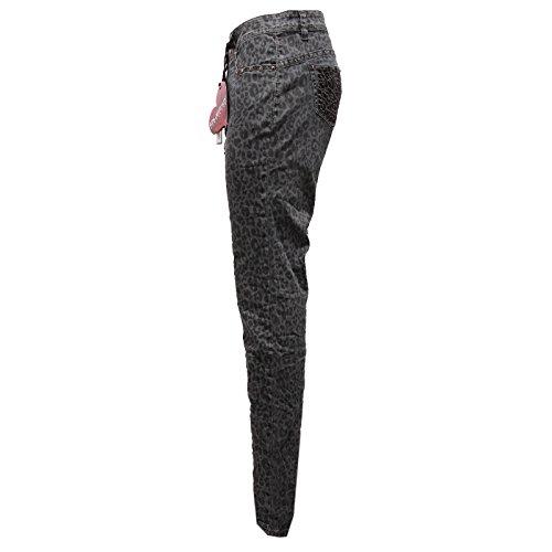 Pant Woman 8406u Custo Negro Barcelona Trouser Pantalone Donna FwFRxUIYq