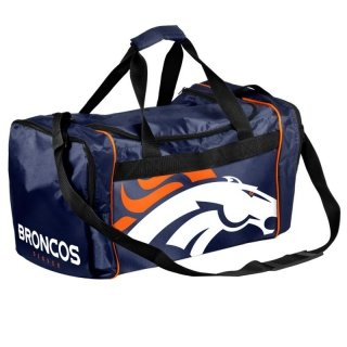Forever Collectibles NFL Denver Broncos Core Duffle Bag by Forever Collectibles