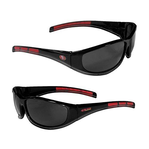 Siskiyou San Francisco 49ers NFL Team Logo Wrap 3 Dot - Sunglasses 49ers
