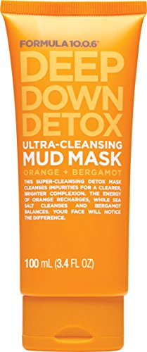 Formula Ten O Six Deep Down Detox Facial Masks, 3.4 Fluid ()