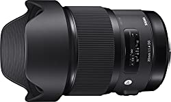 Image of the product Sigma 20mm F14 ART DG HSM that is listed on the catalogue brand of Sigma.