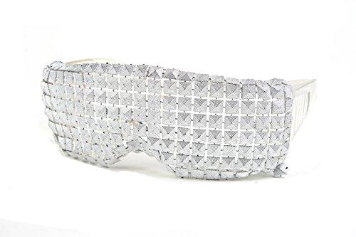 Pop Fashionwear Unisex Homme Custom Make LADY GAGA Sunglasses BARRACUDA MORIR Sunglasses P2036 - Make Glasses Custom