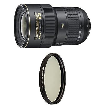 Nikon 16-35mm f/4G ED VR II AF-S IF SWM Nikkor Wide Angle Zoom Lens for Nikon Digital SLR Cameras from Nikon