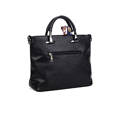 liibot Mujer Piel Auténtica Bolso bandolera bolso de mano bolso: Amazon.es: Ropa y accesorios