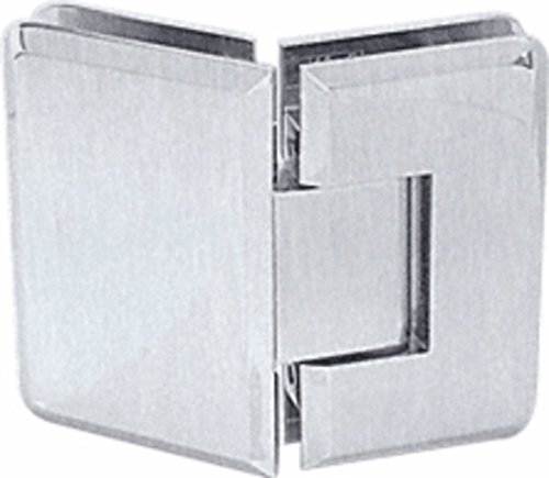 CRL Cologne 045 Series Brushed Satin Chrome 135° Glass-to-Glass Hinge