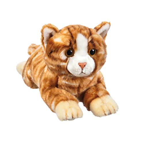 African Wild Dog Safari (B. Boutique Orange Tabby Wildlife Adventures 12 inch Stuffed Plush)