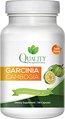 100% Pure Garcinia Cambogia Extract with HCA, Extra Strength, 180 Capsules, Clinically Proven. Made in the USA. ** New and Improved Formula **Pharmaceutical Grade**