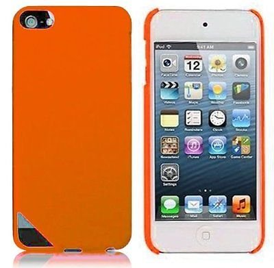 Hard Rubberized Case for iPod Touch 5th Gen - Orange