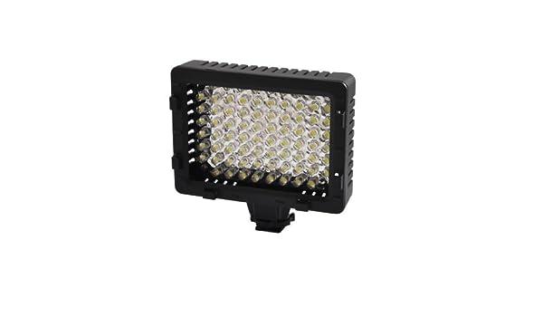 Amazon.com: eDealMax Fotografía Blanca 76 LED DV cámara de vídeo de la lámpara de luz: Electronics
